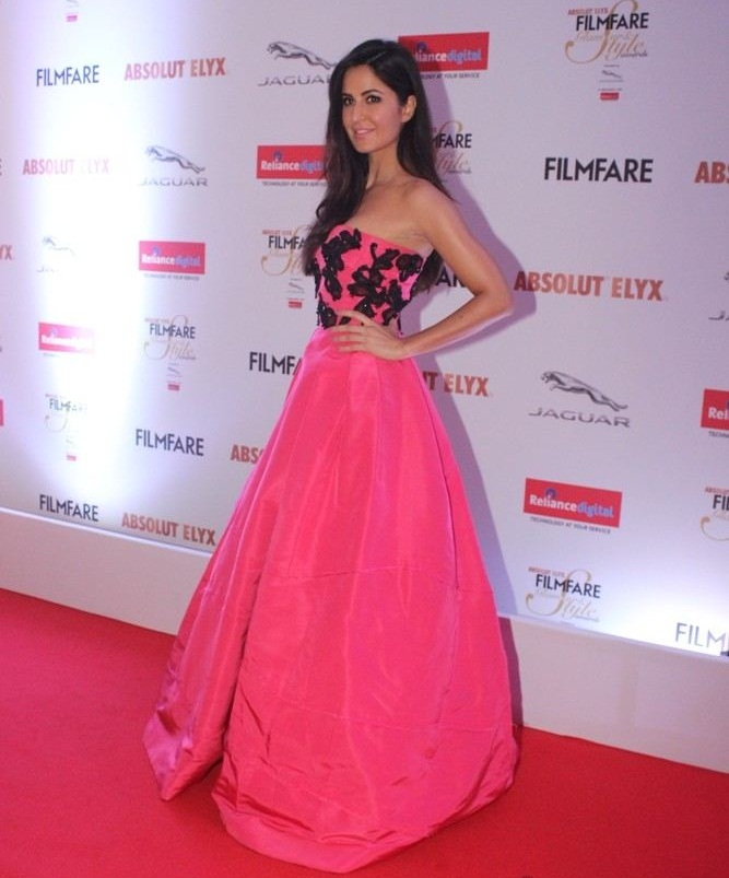 Katrina Kaif In Pink Gown Pics
