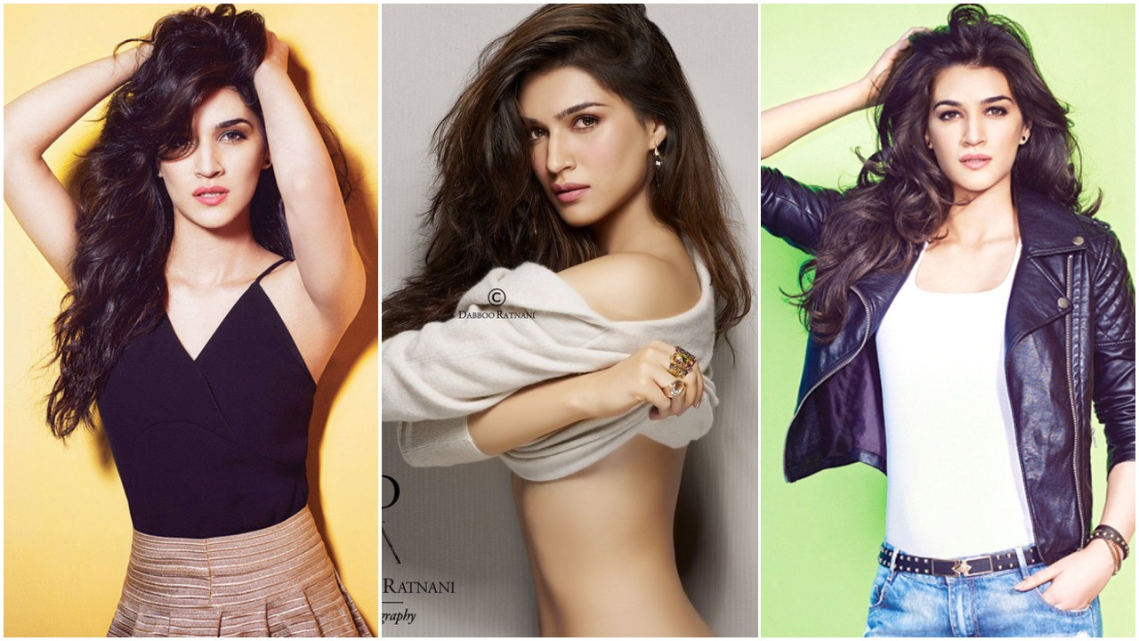 Kriti Sanon Hottest Bikini Pictures – Showing Her Sexy Navel In Saree