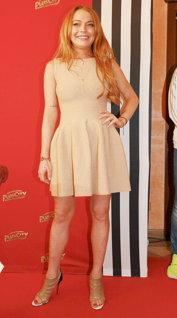 Lindsay Lohan Thighs Pictures