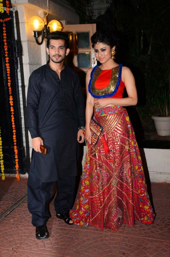 Mouni Roy with Costar Images