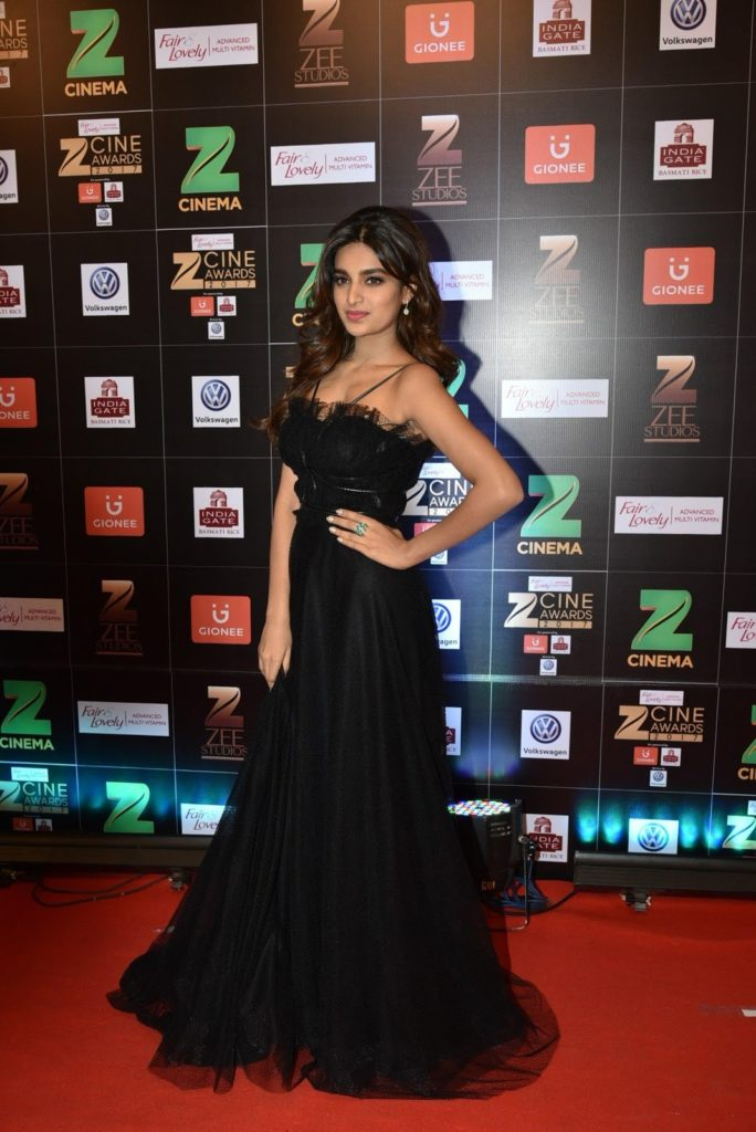 Nidhhi Agerwal Gown Images