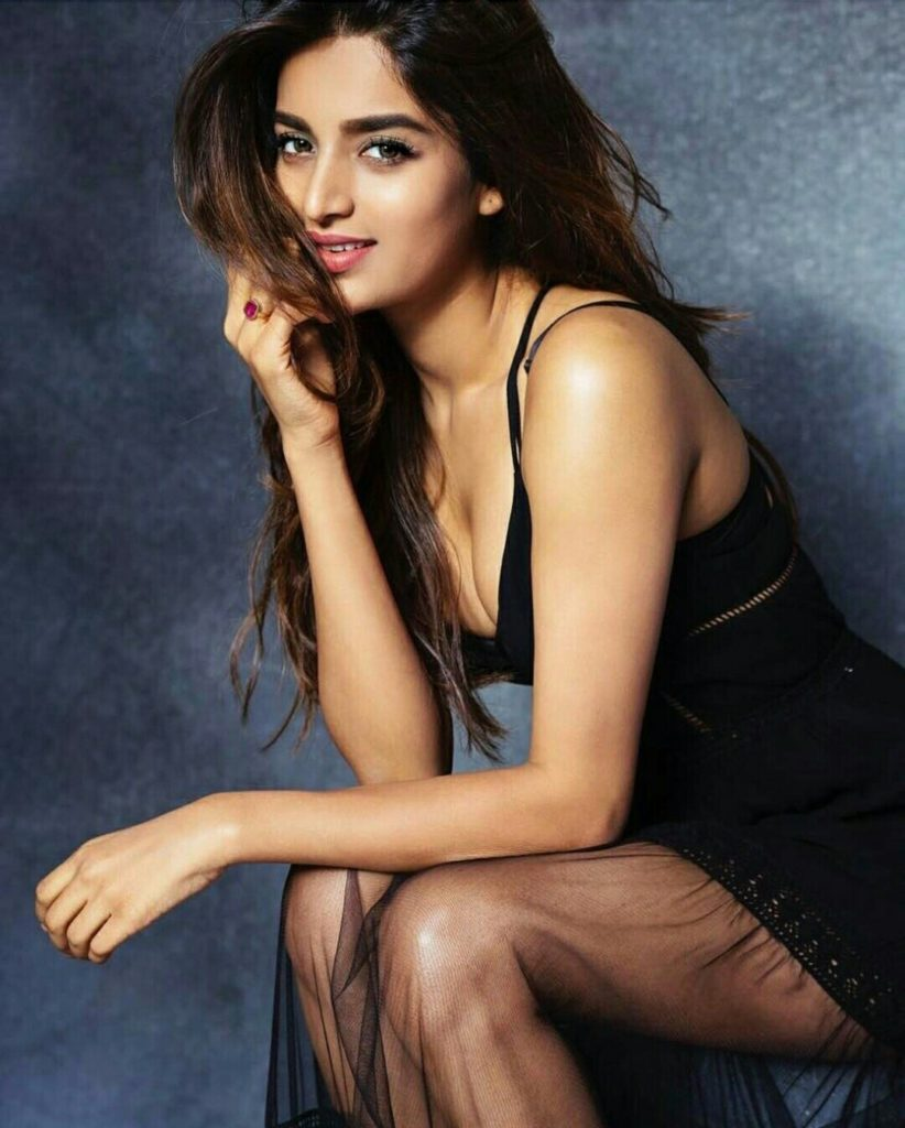 Nidhhi Agerwal Swimsuit Images