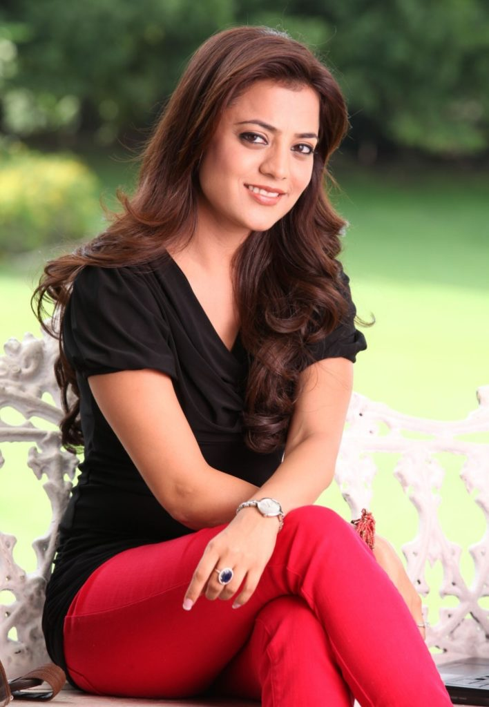 Nisha Agarwal In Red Jeans Images