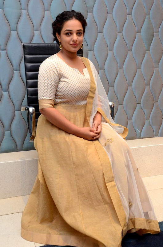 Nithya Menen Gown Images
