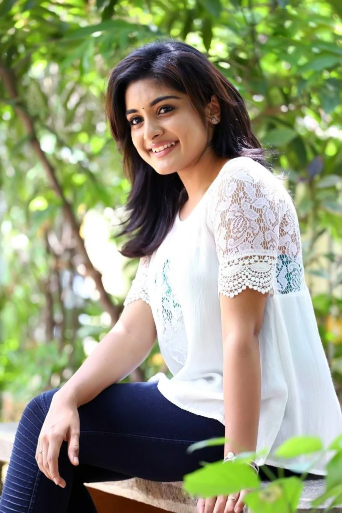 Nivetha Thomas Makeup Images