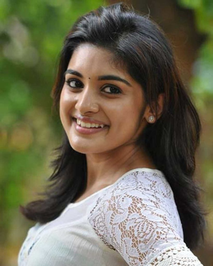 Nivetha Thomas Sexy Smile Images